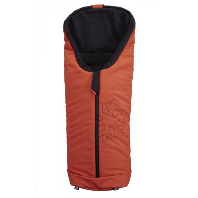 ByBoom Univerzálny ZIMNÝ Softshell Fusak Thermo Aktiv, Oranžová / čierna