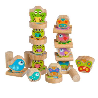 Lucy&Leo Balancer Drevená hračka Little Friends
