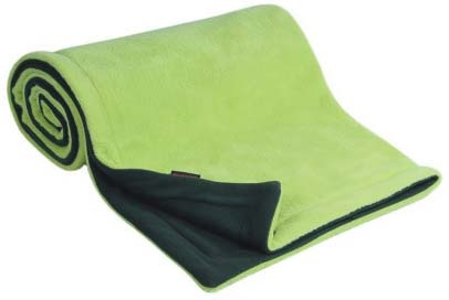 Deka FLEECE 70x100cm - Antracit / Limetka