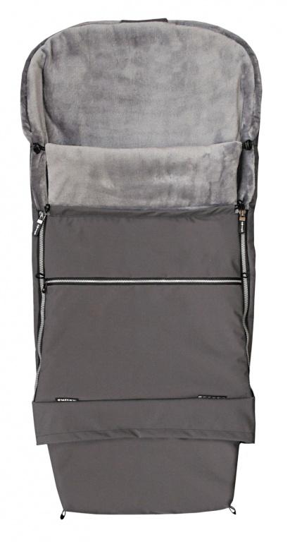 Fusak COMBI PREMIUM 3v1 - šedý / šedý
